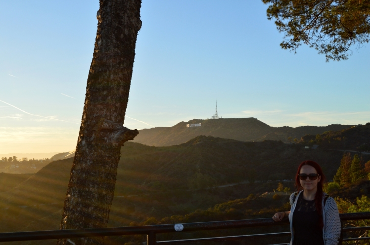 Hollywood from Griffith Observatory
