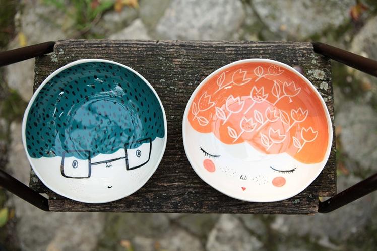 Handmade Ceramic Bowls | Marinski Heartmades
