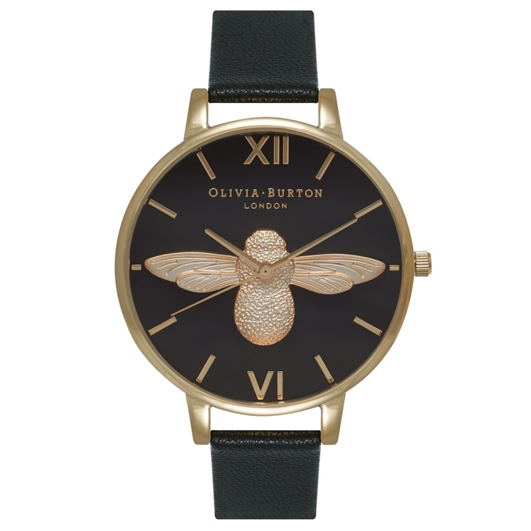 Animal Motif Moulded Bee Watch | Olivia Burton