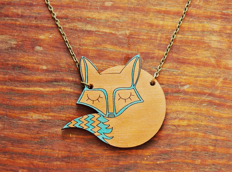 The Sleeping Fox Necklace | The Firefly Tree