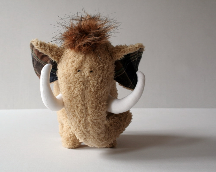 Wooly Mammoth Plushie | Andreavida