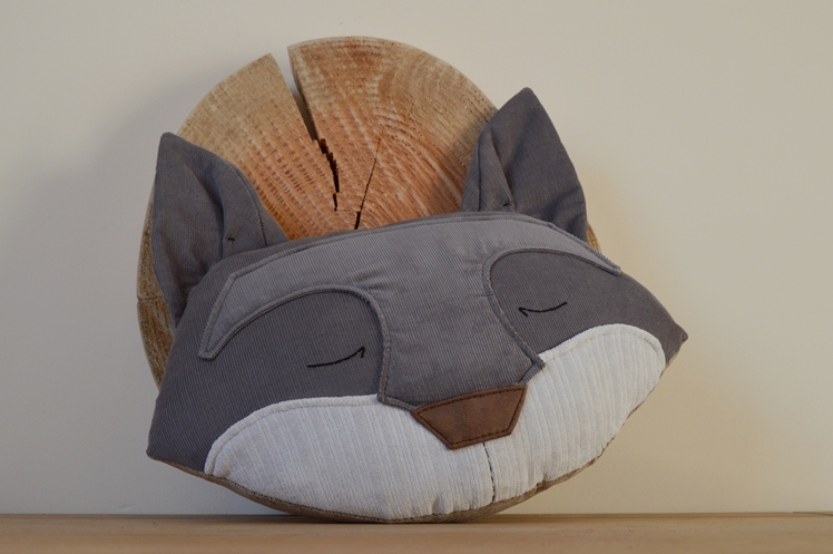 Midgins' Silver Grey Fox Cushion