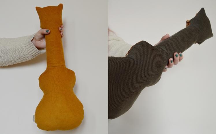 Upcycled Ukulele Cushions - Midgins' Blog