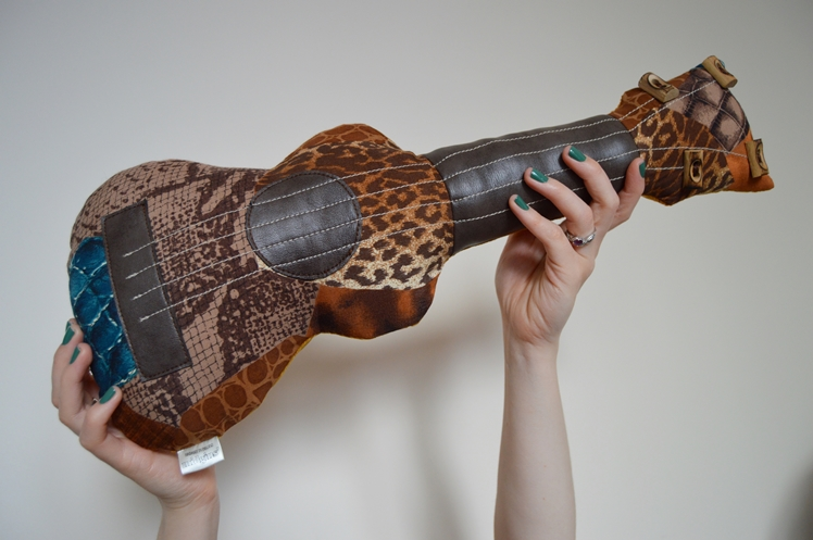 Upcycled Ukulele Cushion - Midgins' Blog