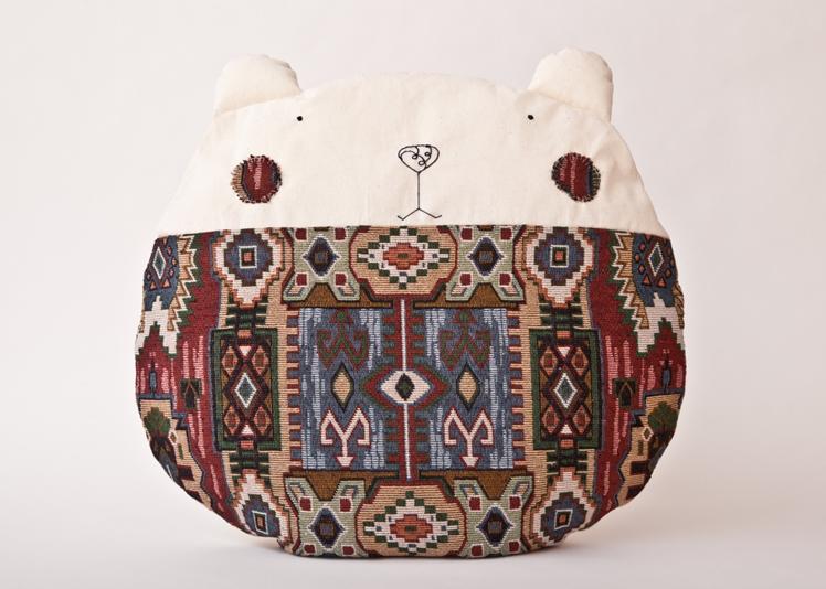 Bear Pillow | Julia Wine