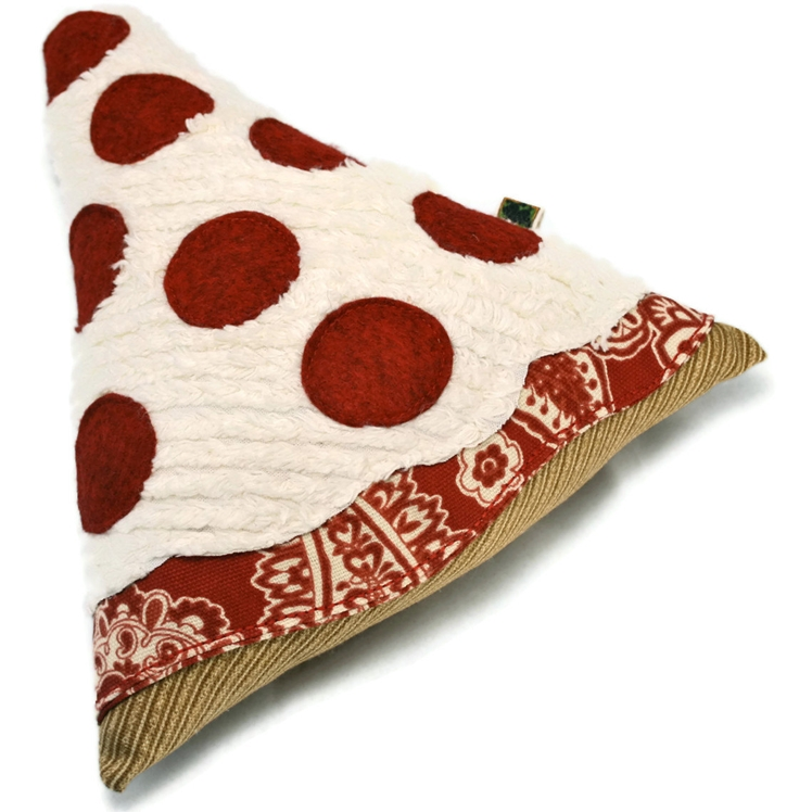 Pepperoni Pizza Dog Toy | Wags and Wiggles