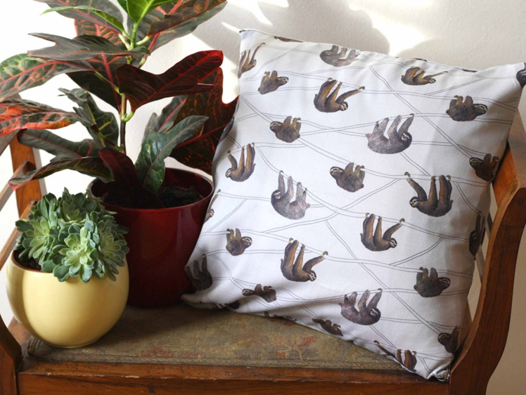 Sloth Pillow Case | Annanemone