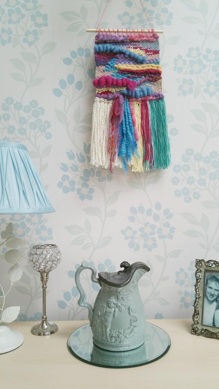 Woven Wall Art by Wallflower Weavings