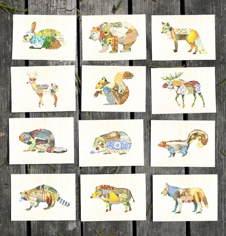 Woodland Creatures | Satchel & Sage