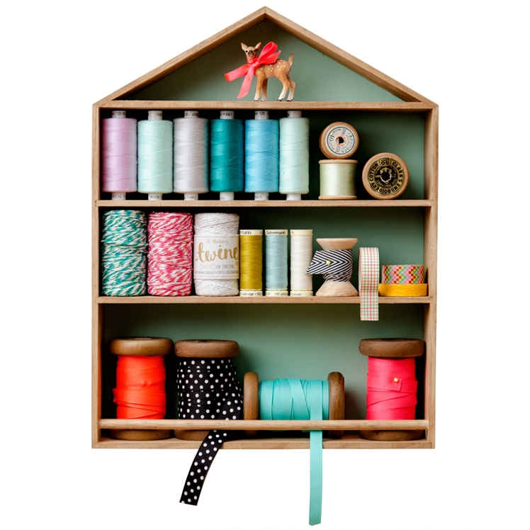 Haberdashery House Shelving Unit | The Makery