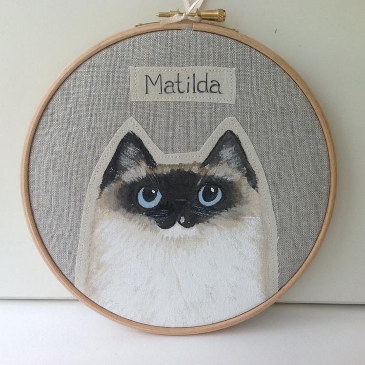 Personalised Pet Cat Portrait | Box Room Bazaar