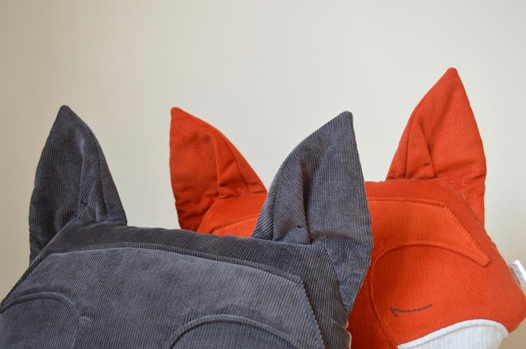 Grey Fox Cushion - Midgins' Blog