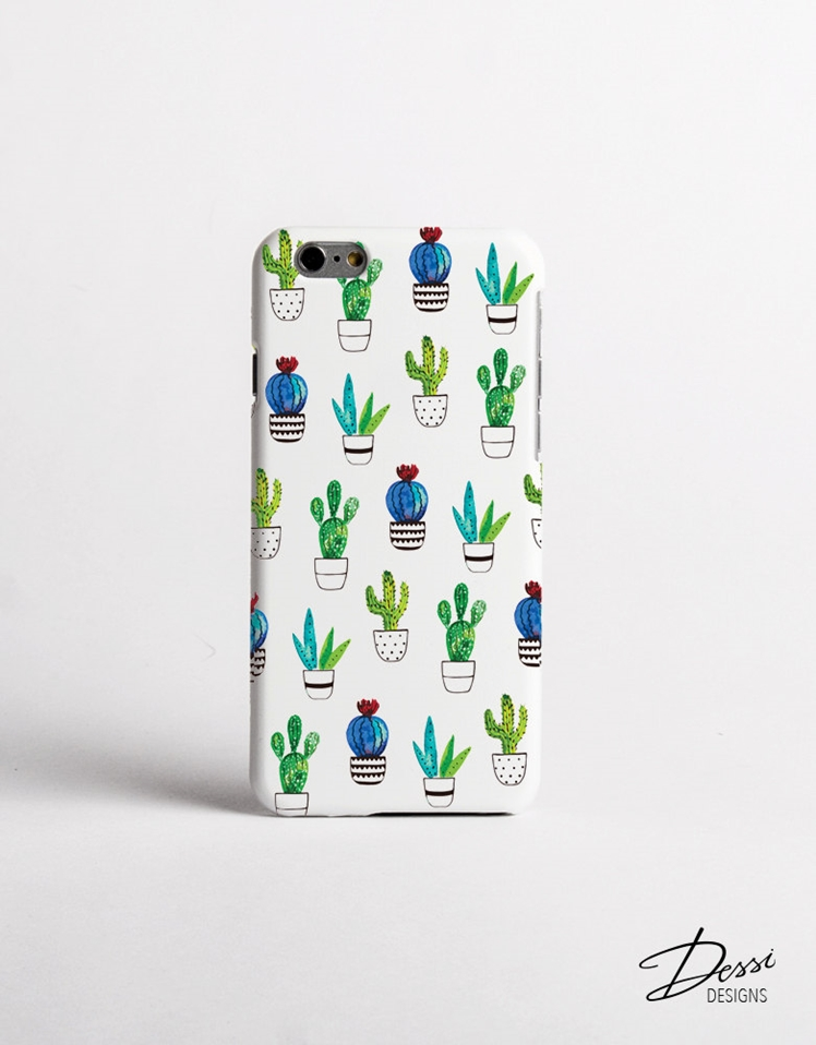 Cactus Phone Case | Dessi Designs