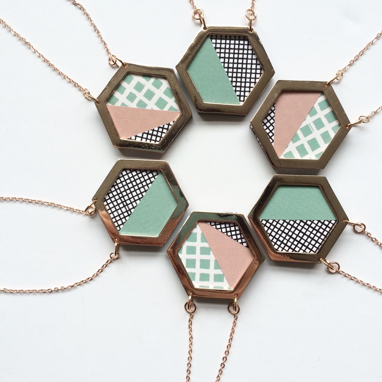 Hexagon Necklace | Mica Peet