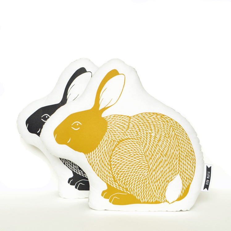Rabbit Pillow | Bird Mafia