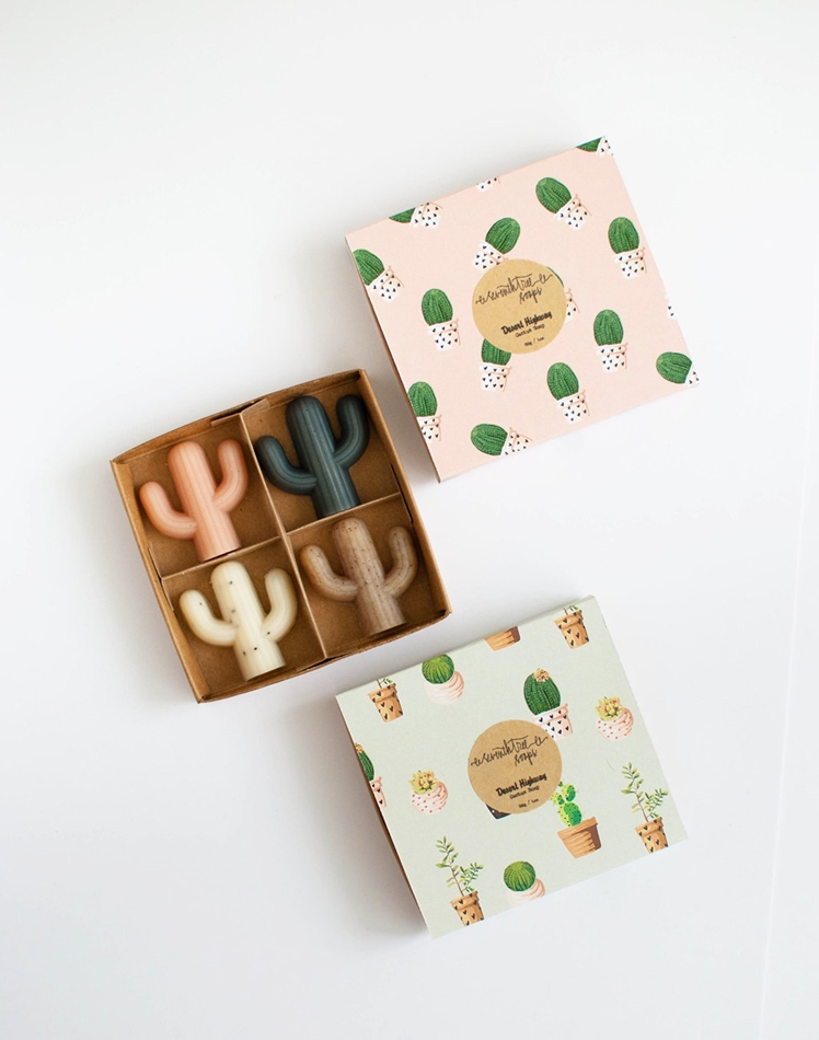 Cactus Soaps | Seventh Tree Soaps