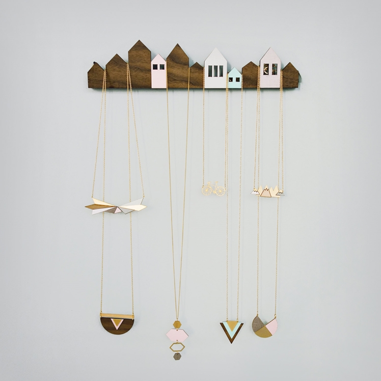Houses Jewelry Display | Shlomit Ofir