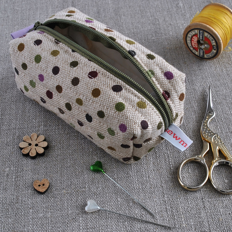 Make-up Bag / Sewing Kit Pouch | Sewmotion UK