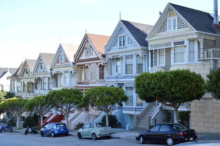 San Francisco Painted Ladies - Midgins' Blog