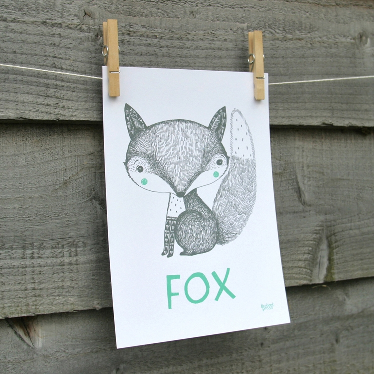 Fox Print | Beetroot Press