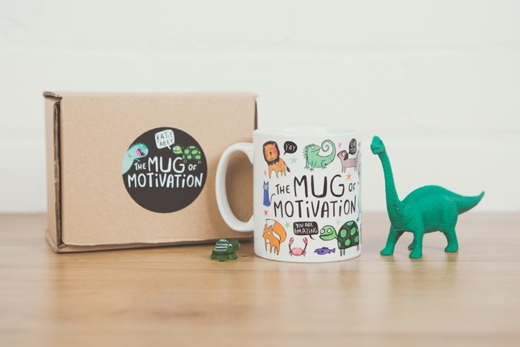 The Mug of Motivation | Katie Abey Design