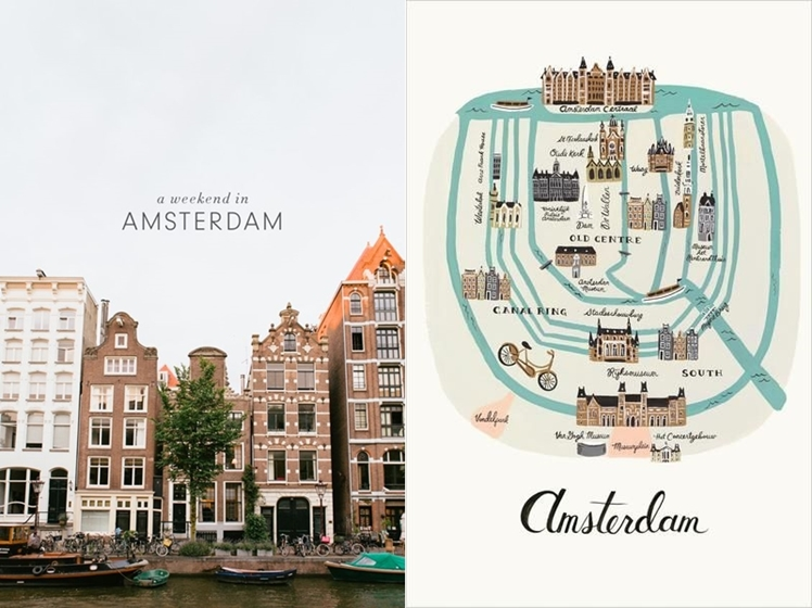 Amsterdam Travel Inspiration | Midgins' Blog