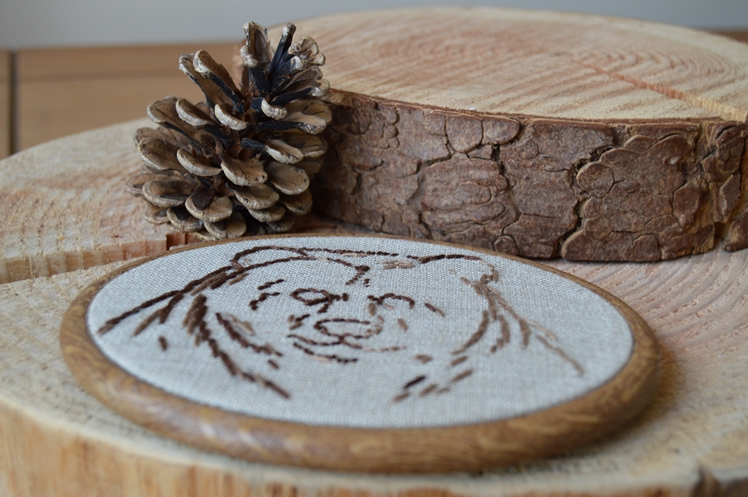 Bear Embroidery - Taking Stock May - Midgins' Blog