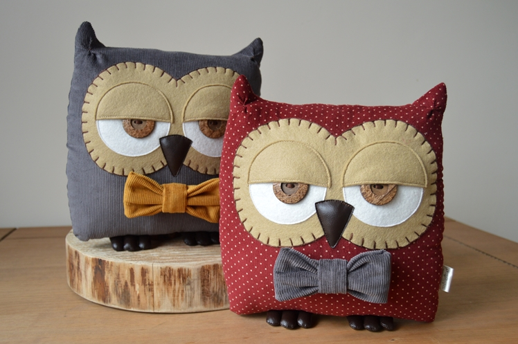 Owl Cushions - Taking Stock April - Midgins' Blog