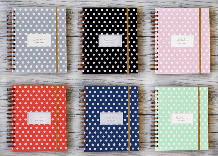 2016 Personalised Planner | Made to Plan