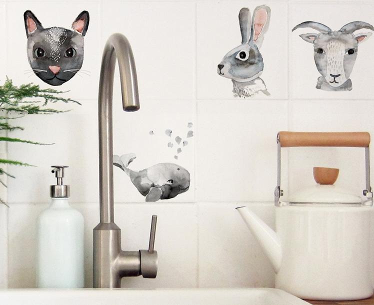 Tile Decals - Animals | Nuukk