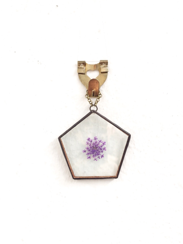 Pressed Flower Wall Hanging | Paly Glass