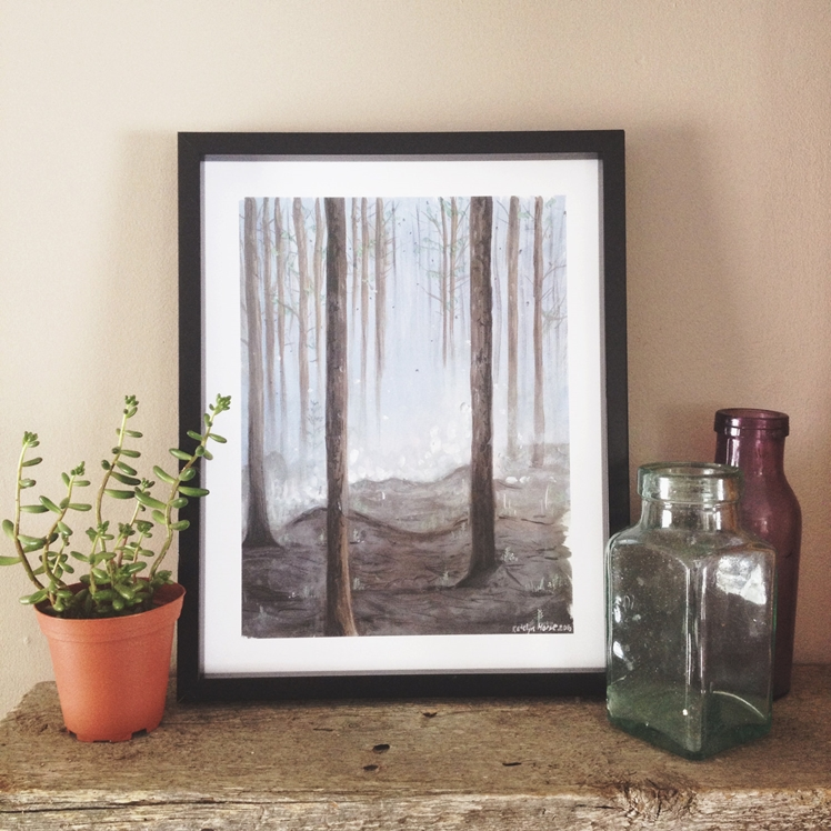 Forest Print | Birch Bliss