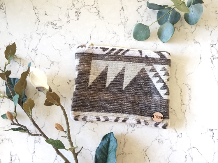 Southwest Knit Pouch | Our Own Little Hive