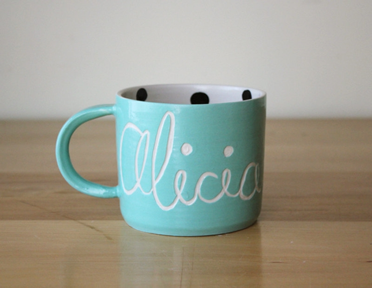 Personalised Name Mug | Beardbangs