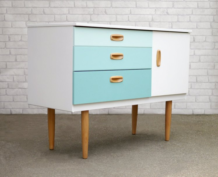 Mid Century Sideboard | Elizabeth Dot Design