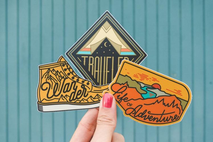 Adventure Sticker Set | Asilda Store