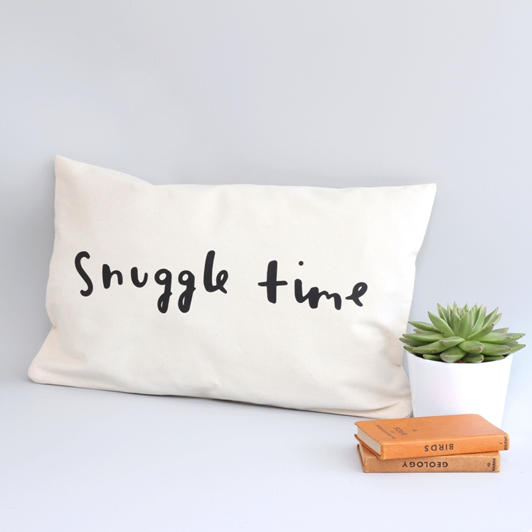 Snuggle Time Cushion Cover | Old English Co