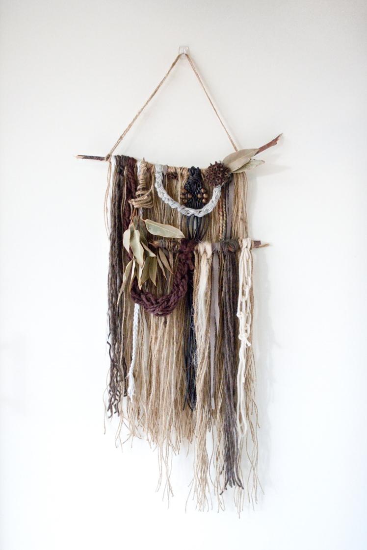 Large Handmade Wall Hanging | Little Brook Weavings