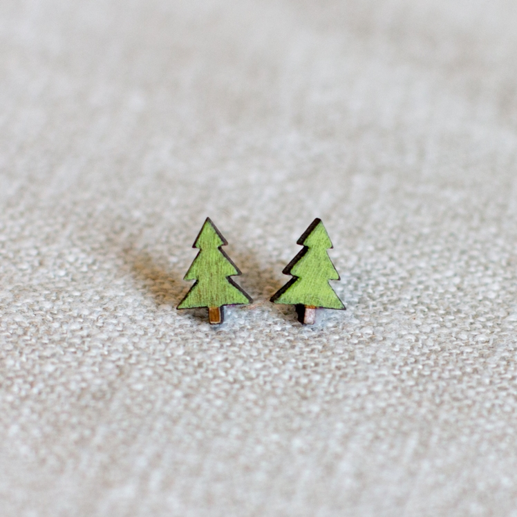 Tree Earrings | Finest Imaginary