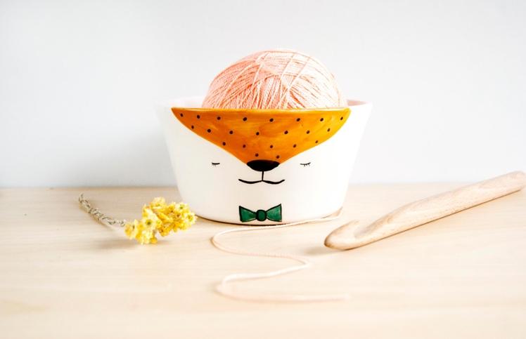 Ceramic Yarn Bowl | Noe Marin