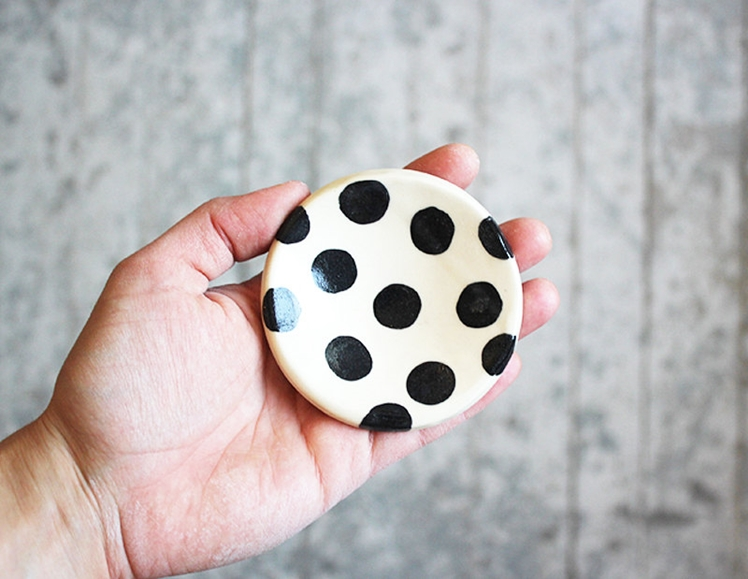 Polka Dot Ring Dish | Beardbangs