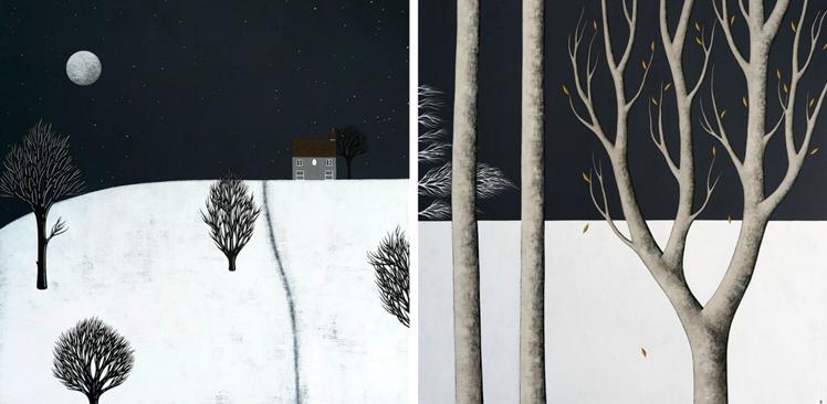 Night Landscapes Print Collection | Natasha Newton Art