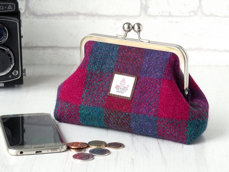 Harris Tweed Clutch Purse | Handbags and Home