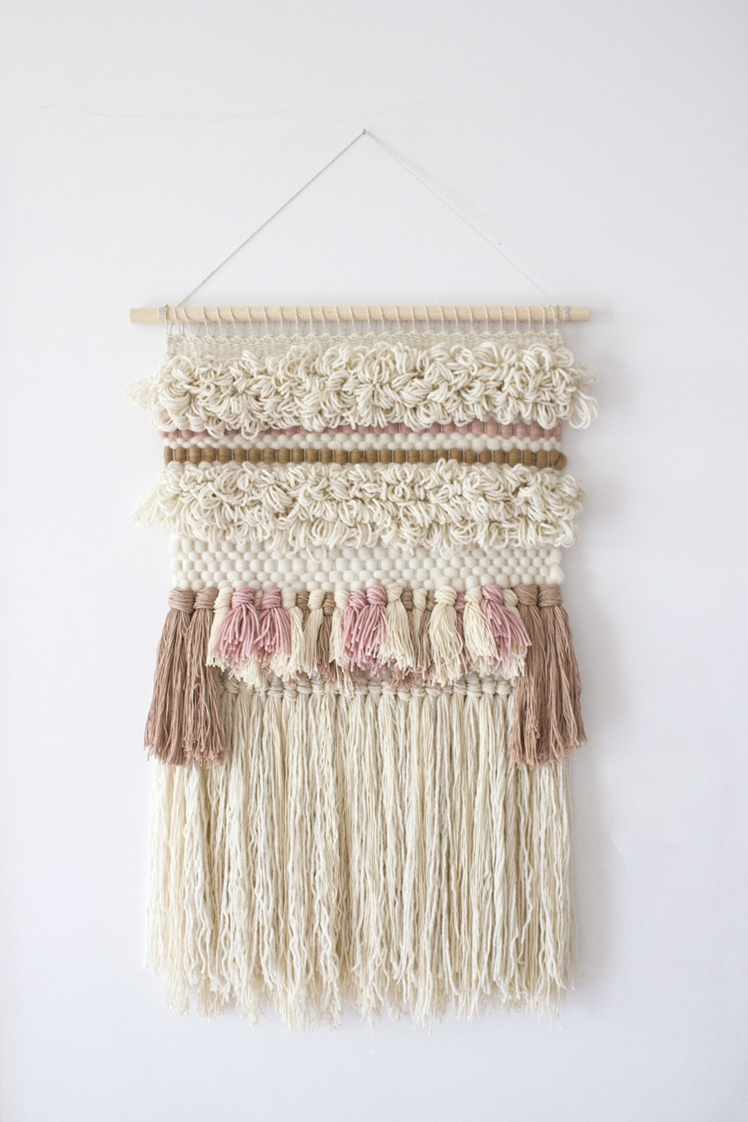 Woven Wall Hanging | Weaving My Story