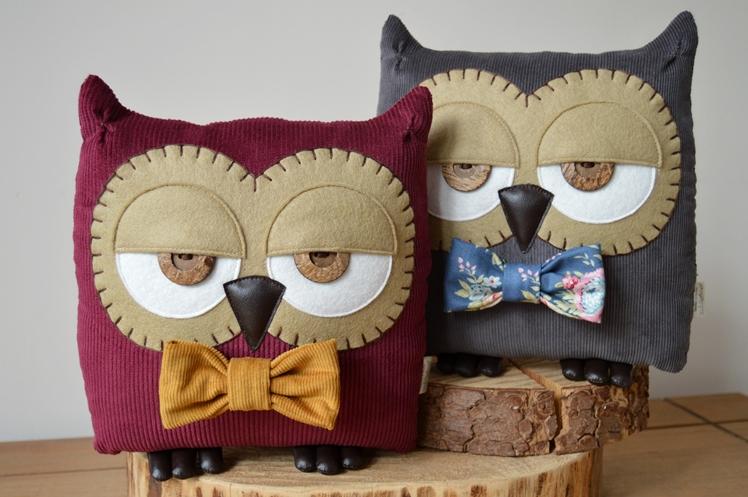 Owl Pillows - Midgins' Blog