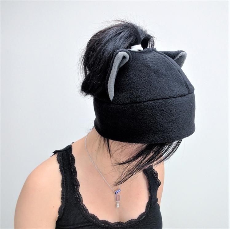 Cat Ponytail Hat | QWear01