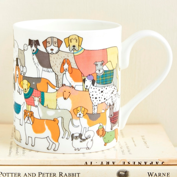 Pack of Proud Pooches Mug | Mary Kilvert