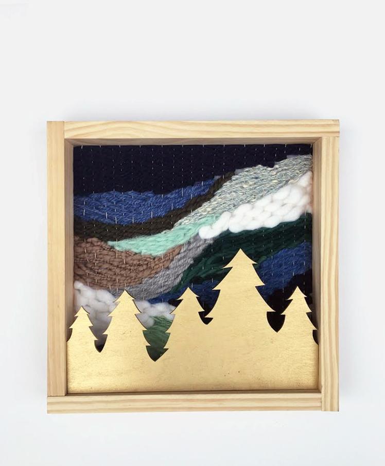 Woven Wall Art Forest | Savvie Studio