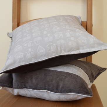 House Print & Corduroy Cushion Covers | Midgins'
