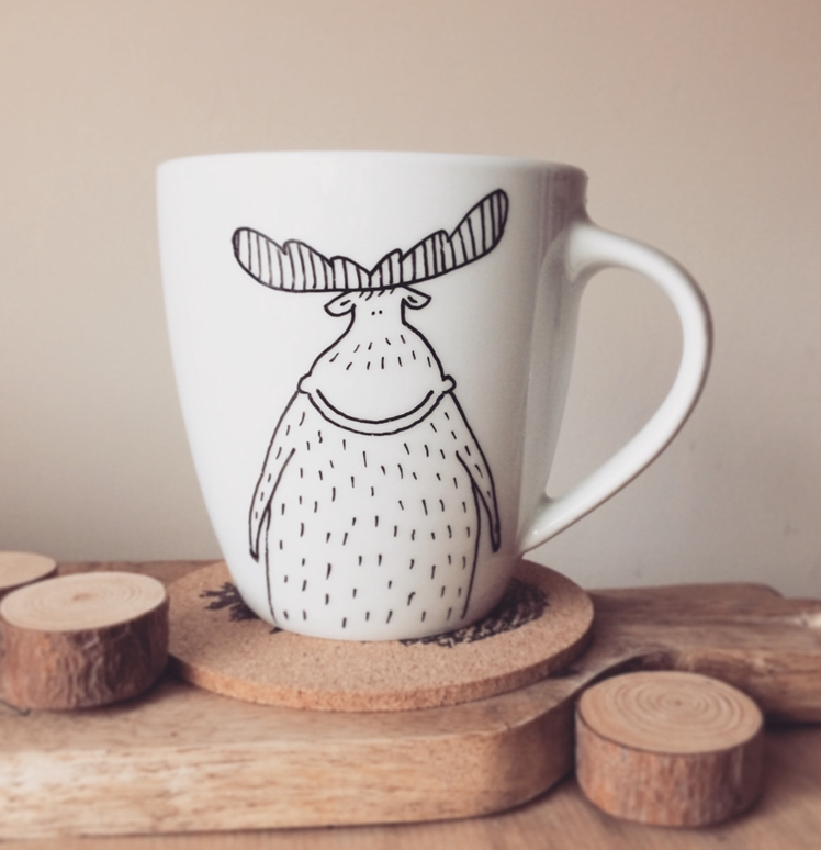 Moose Mug | Woodland Factory